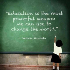 Education is key!