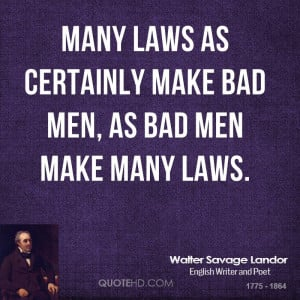Quotes About Bad in Laws