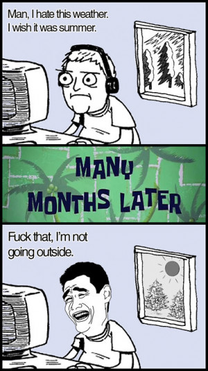 funny meme winter summer