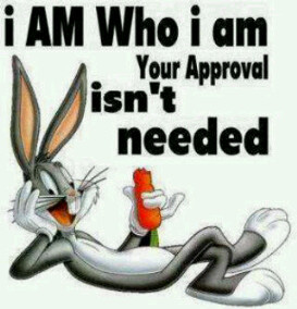 am who I am Your Approval isnt Needed