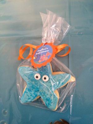 ... Nemo Baby, Sea Babyshower, Starfish Cookies, Finding Nemo, Baby Gift