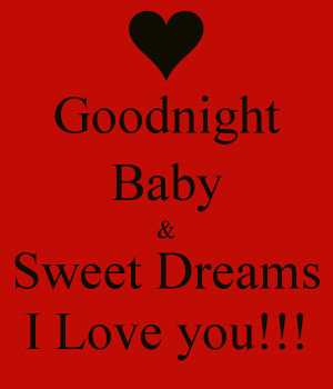 ... the reason why i love you good night love you we love you goodnight