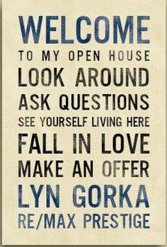Open House Real Estate Quotes Quotesgram