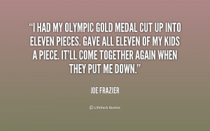 Olympic Gold Quotes