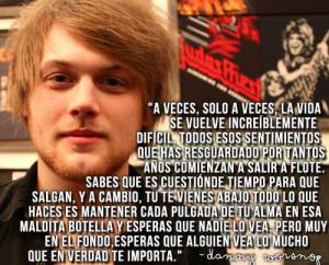 citas frases danny worsnop asking alexandria spanish quotes