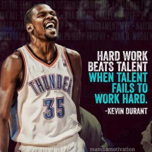 Kevin Durant Quotes Hard Work 16 weeks ago quote from nba