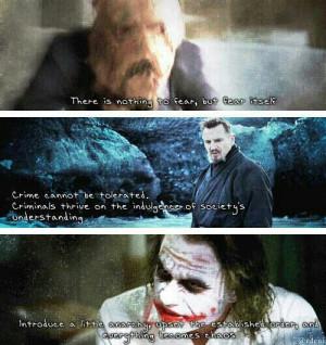 Batman villain quotes