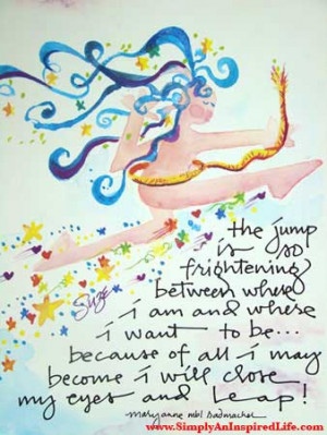 leap from my large collection of inspirational quotes and sayings