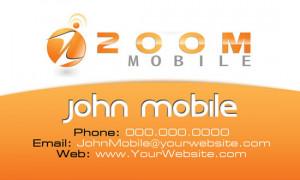 envirosave mobile phone business card