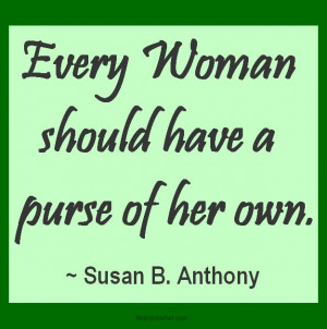 Susan B Anthony Quotes Women