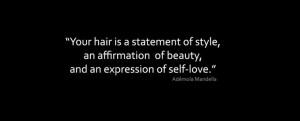 quotes about natural hair organic natural hair products salon ...