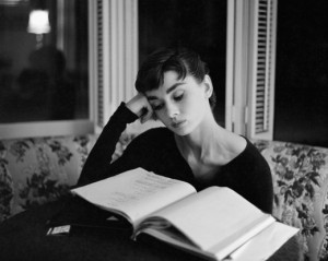 Reading Icons: Audrey Hepburn
