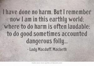 Lady Macduff