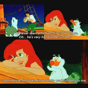The Little Mermaid Sebastian Quotes Sebastian quot... the little