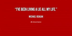 Living a Lie Quotes