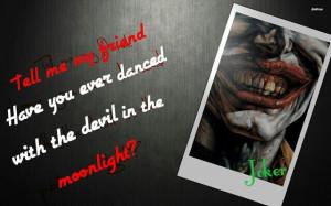 Jack Nicholson Joker Quotes