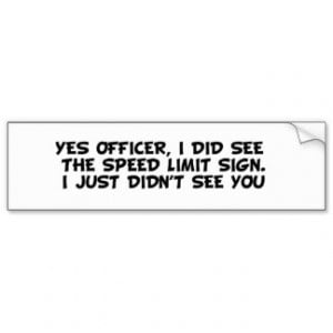 Funny Traffic Tickets