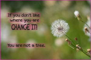 Tree Quotes You are not a tree quote