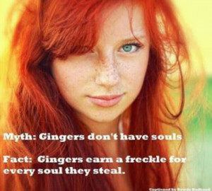It's All About Ginger People (25 pics)