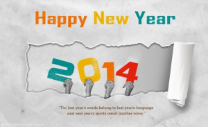 Happy New Year 2014 Greeting Cards For Colleagues | Business Clients ...