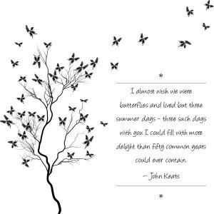 Beautiful John Keats quote. #quote