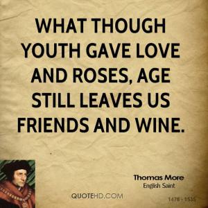 Thomas More Age Quotes