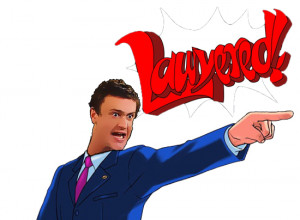Marshall Eriksen - Ace Attorney by SpaceBunny2221