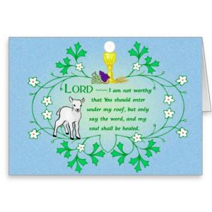 catholic_zazzle_first_holy_communion_card_lamb ...