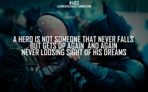 ... Batman #real #inspiringquotes #hero #superheroes #MotivationalQuotes