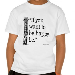 Leo Tolstoy Quote - Happiness - Quotes T Shirt