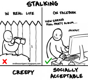 Stalking Tips . Yes, your read that correctly. As facebook stalking ...