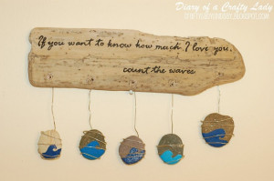 Driftwood plaque with saying. Browse driftwood crafts on Completely ...