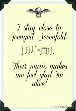 avenged #sevenfold #quotes #a7x