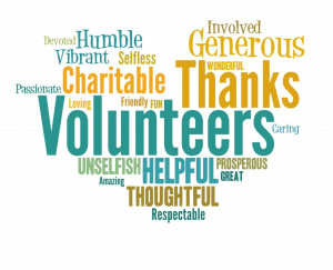 National Volunteer Month – Thank You!