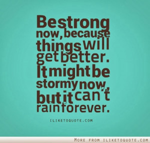 hopes up so for those who are in stormy situations now don t worry ...