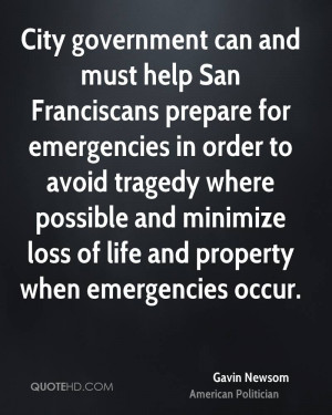 City government can and must help San Franciscans prepare for ...