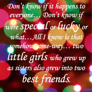 Awww... I miss my sister
