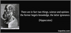More Hippocrates Quotes