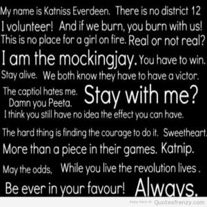thehungergames catchingfire mockingjay Books Reading Quotes