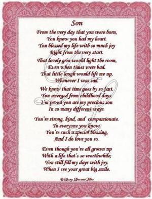 happy birthday mom from son poem funny happy birthday mom birthday ...
