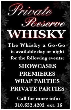 PLAY AT THE WHISKY!