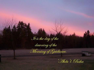 Baha'i inspired Photo Quotes