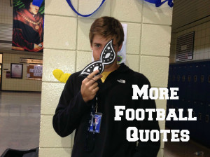 More Football Quotes