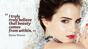 Emma Watson Truly Beauty Quotes Images, Pictures, Photos, HD ...