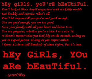 Gerard Way Quotes Hey Girls Kootation