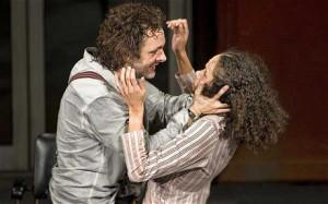 Michael Sheen as Hamlet and Vinette Robinson as Ophelia - Michael ...