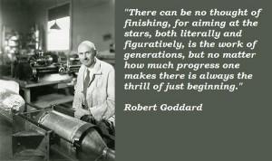 Robert goddard quotes 5