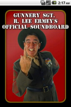 View bigger - R. Lee Ermey's Official Sound for Android screenshot