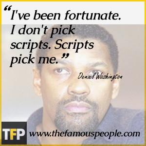 Denzel Washington Quotes...