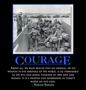 military courage quotes